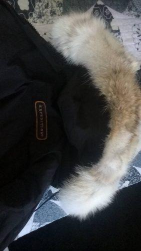Canada goose fur trim replacement collar photo review